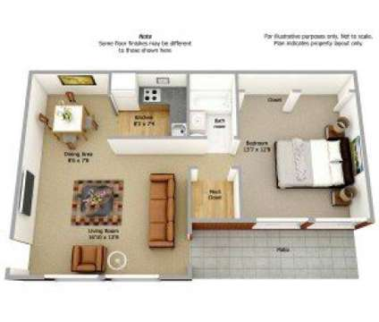 1 Bed - The Courts of Camp Springs at 5327 Carswell Ave in Camp Springs MD is a Apartment
