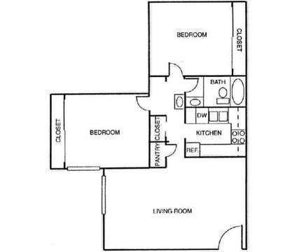 2 Beds - Rock Creek Apartments at 3135 Comanche Rd Ne in Albuquerque NM is a Apartment
