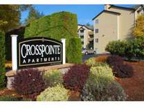 1 Bed - Crosspointe Apartments