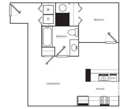 1 Bed - 728 Sherman at 728 Sherman Ave in Coeur D Alene ID is a Apartment