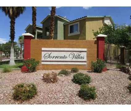 1 Bed - Sorrento Villas at 3580 E Alexander Rd in Las Vegas NV is a Apartment