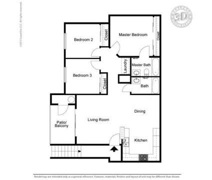 3 Beds - Sorrento Villas at 3580 E Alexander Rd in Las Vegas NV is a Apartment