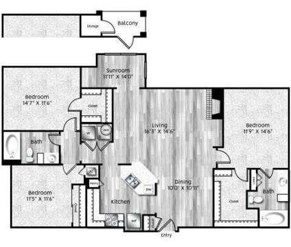 3 Beds - La Villita at 6727 Deseo in Irving TX is a Apartment