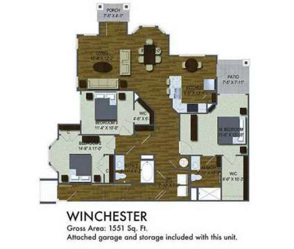 3 Beds - Villas On Wallace Road at 1211 Gray Birch Way in Knoxville TN is a Apartment