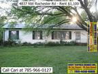 $1100 / Three BR - 1200ft² - Three BR 1.5 BA home on 1/2 acre with full
