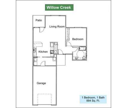 1 Bed - Creekside Arbour at 1425 N E Fifth St in Meridian ID is a Apartment