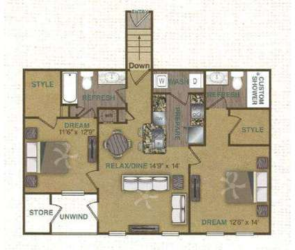 2 Beds - Arium Overland Park at 12800 W 134th St in Overland Park KS is a Apartment