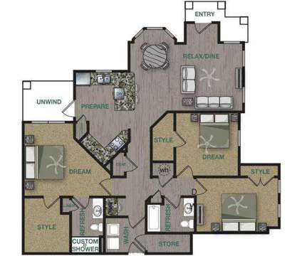 3 Beds - Arium Overland Park at 12800 W 134th St in Overland Park KS is a Apartment