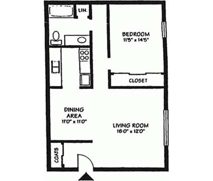 1 Bed - Kimberly Club Apartments at 3300 East Kimberly Rd in Davenport IA is a Apartment