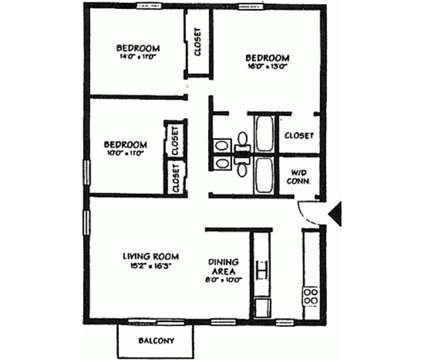 3 Beds - Kimberly Club Apartments at 3300 East Kimberly Rd in Davenport IA is a Apartment