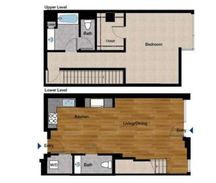 1 Bed - Domain Oakland at 1389 Jefferson St in Oakland CA is a Apartment