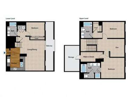 3 Beds - Domain at 1389 Jefferson St in Oakland CA is a Apartment