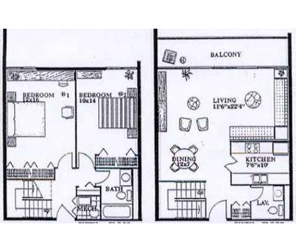 2 Beds - The Americana at 380 S 5th St in Columbus OH is a Apartment