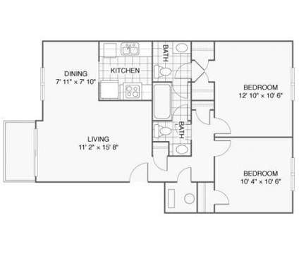 2 Beds - Lenexa Crossing at 12445 W 97th Terrace in Lenexa KS is a Apartment