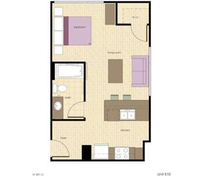 1 Bed - Waverly Terrace Senior Apartments at 2829 Peabody Ave in Columbus GA is a Apartment