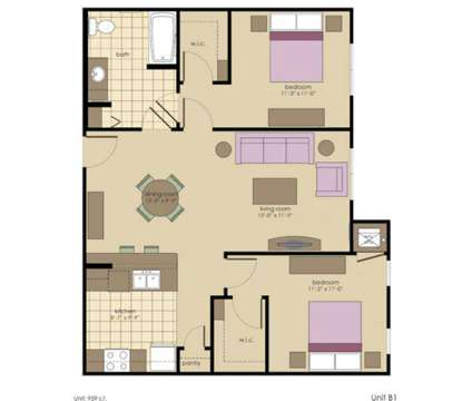 2 Beds - Waverly Terrace Senior Apartments at 2829 Peabody Ave in Columbus GA is a Apartment