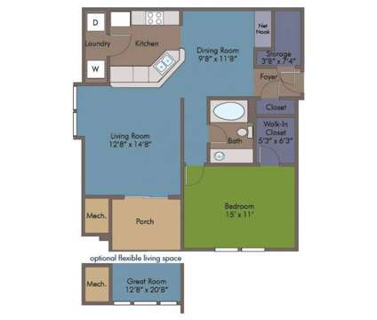 1 Bed - Abberly Crest Apartment Homes at 46850 Abberly Crest Ln in Lexington Park MD is a Apartment
