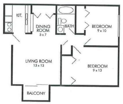 2 Beds - Polo Run Apartments at 800 Kings Mill Road in Greenwood IN is a Apartment