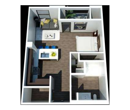 Studio - Jefferson Platinum Triangle - NOW LEASING at 1616 East Katella Ave in Anaheim CA is a Apartment