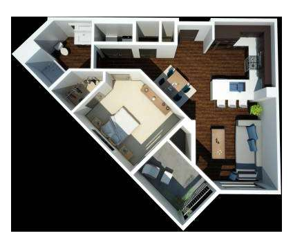 1 Bed - Jefferson Platinum Triangle - NOW LEASING at 1616 East Katella Ave in Anaheim CA is a Apartment