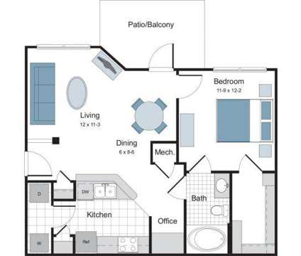 1 Bed - The Lodge at Crossroads at 200 Brisbane Woods Way in Cary NC is a Apartment