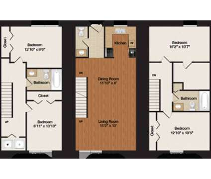 4 Beds - Townhouses on 10th at 3211 E 10th St in Bloomington IN is a Apartment