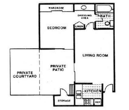 1 Bed - Pinewood Crossing at 764 E Twain Ave in Las Vegas NV is a Apartment
