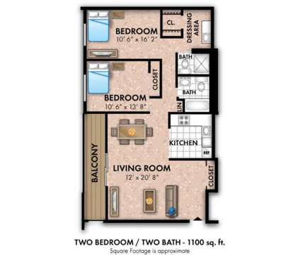 2 Beds - Willowbrook Apartments at 6310 Greenspring Avenue in Pikesville MD is a Apartment