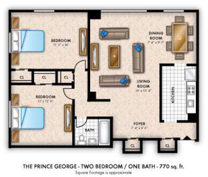 2 Beds - The Marylander at 3501 St Paul St in Baltimore MD is a Apartment