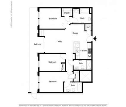 3 Beds - Boulevard on Wilshire at 5353 Wilshire Boulevard in Los Angeles CA is a Apartment