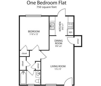 1 Bed - Millington Oaks at 4945 Navy Rd #2 in Millington TN is a Apartment