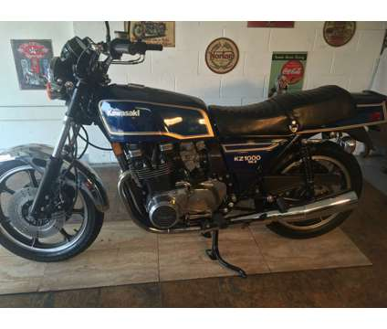 1979 Kawasaki KZ1000 Mark II is a 1979 Kawasaki KZ KZ1000 Classic Motorcycle in Franklin WI