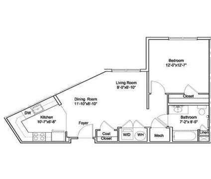 1 Bed - The Highlands at Morristown Station at 10 Lafayette Avenue in Morristown NJ is a Apartment