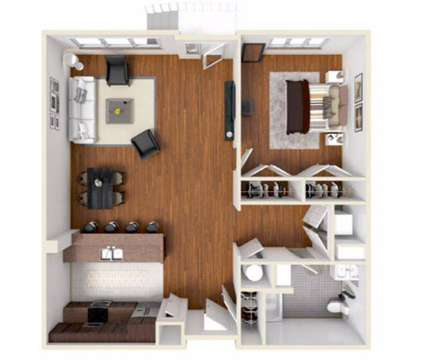 1 Bed - Vermella Harrison at 1100 Frank E Rodgers Boulevar in Harrison NJ is a Apartment