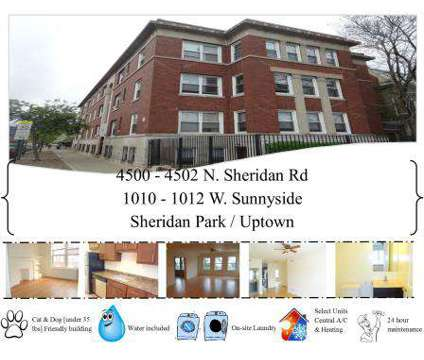 2 Beds - Slater Realty Uptown and Lakeview Neighborhood Apartments at 900 West Montrose in Chicago IL is a Apartment