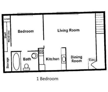 1 Bed - Jefferson West Apartments at 2815 Madison Avenue in Boise ID is a Apartment