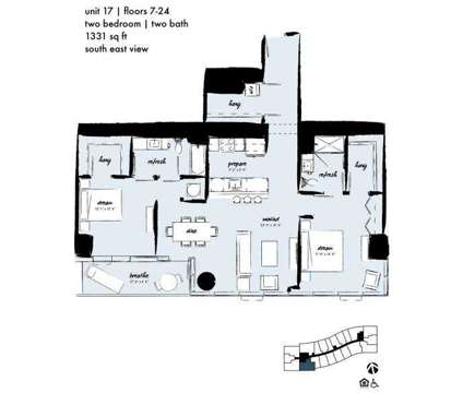 2 Beds - Midtown 5 at 3201 Ne 1st Ave in Miami FL is a Apartment