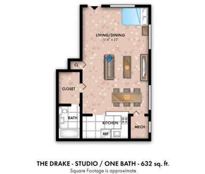 Studio - Willow Lake Apartment Homes at 13010 Old Stage Coach Road in Laurel MD is a Apartment