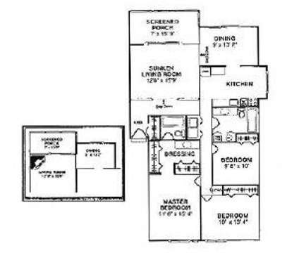 3 Beds - Peachtree Place North at 4607 Peachtree Place Parkway in Doraville GA is a Apartment