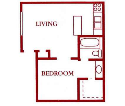 Studio - Montego Bay at 4905 Courtside Drive in Irving TX is a Apartment