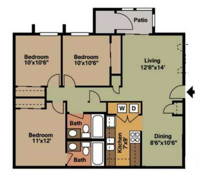 3 Beds - EnVue Apartments at 3535 Plainsman Ln in Bryan TX is a Apartment