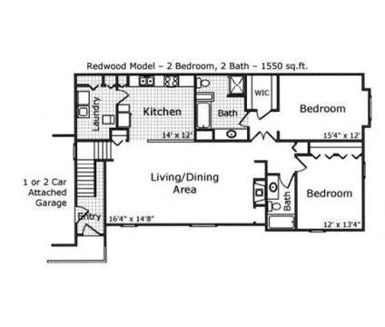 2 Beds - Grand Bay of Brecksville at 7001 West Cross Creek Trail in Brecksville OH is a Apartment
