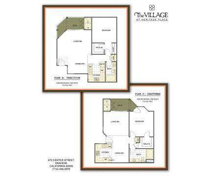 2 Beds - The Village at Heritage Place at 475 East Center St in Anaheim CA is a Apartment