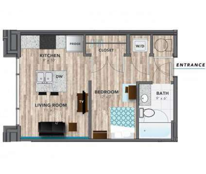 Studio - Lux On Capitol at 549 Oscar Robertson Boulevard in Indianapolis IN is a Apartment