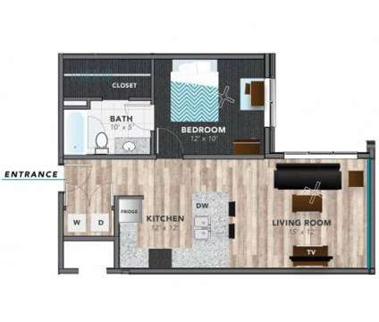 1 Bed - Lux On Capitol at 501 N Capitol in Indianapolis IN is a Apartment