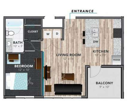 1 Bed - Lux On Capitol at 549 Oscar Robertson Boulevard in Indianapolis IN is a Apartment