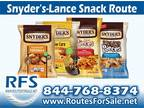 Business For Sale: Snyder's-Lance Chip Route