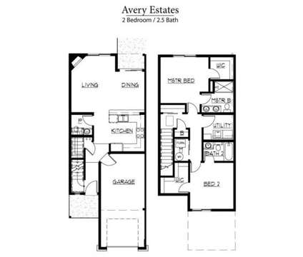 2 Beds - Avery Estates - New Townhomes Opening January 2017 at 25 Maryanna Ln in Coeur D Alene ID is a Apartment