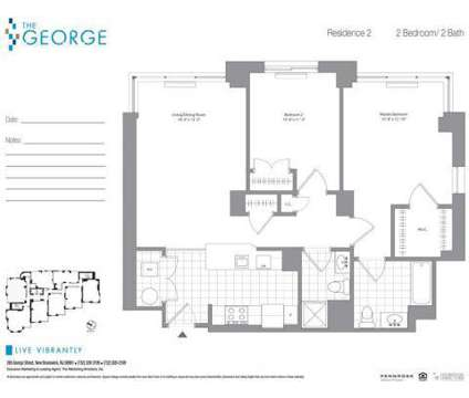 2 Beds - The George at 285 George St in New Brunswick NJ is a Apartment