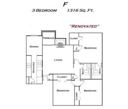 3 Beds - Heather Village at 6000 Boca Raton Boulevard in Fort Worth TX is a Apartment